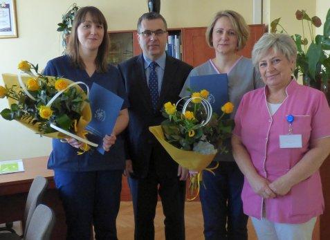 Pielęgniarki naszego szpitala zdobywają czołowe miejsca w konkursach