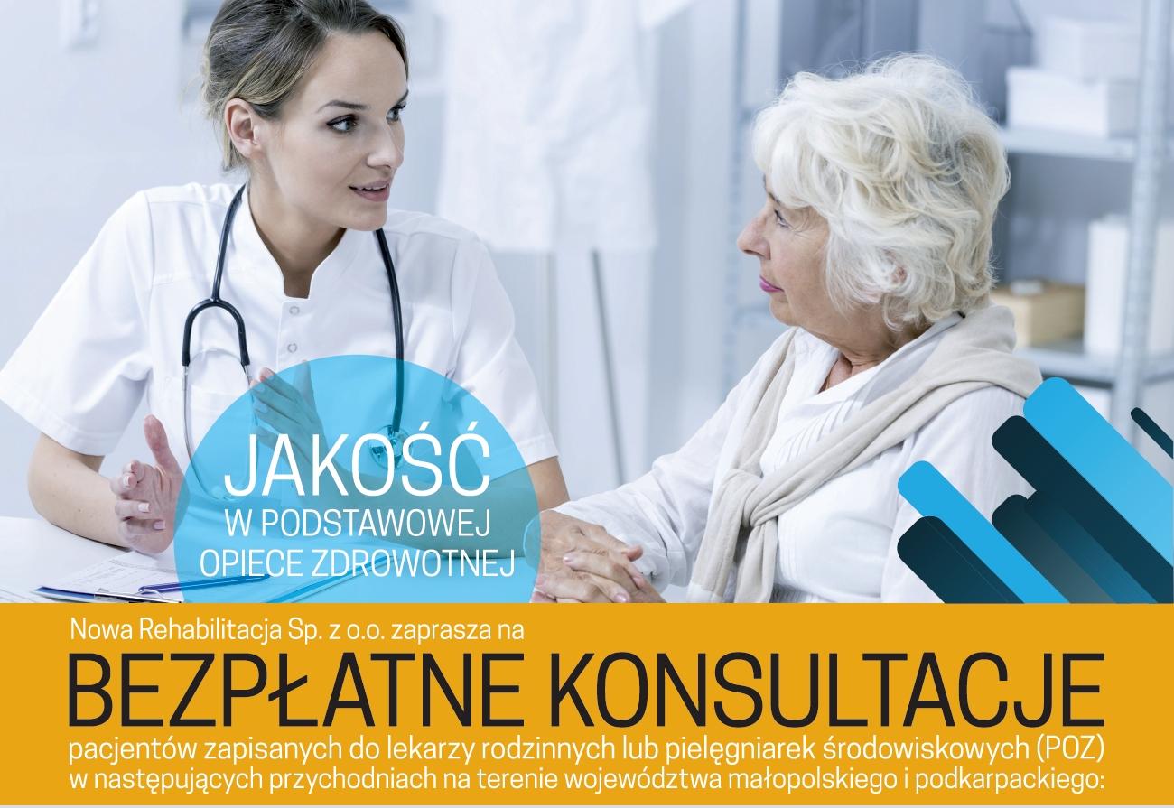 Bezpłatne konsultacje pacjentów POZ należących do SP ZOZ Brzesko