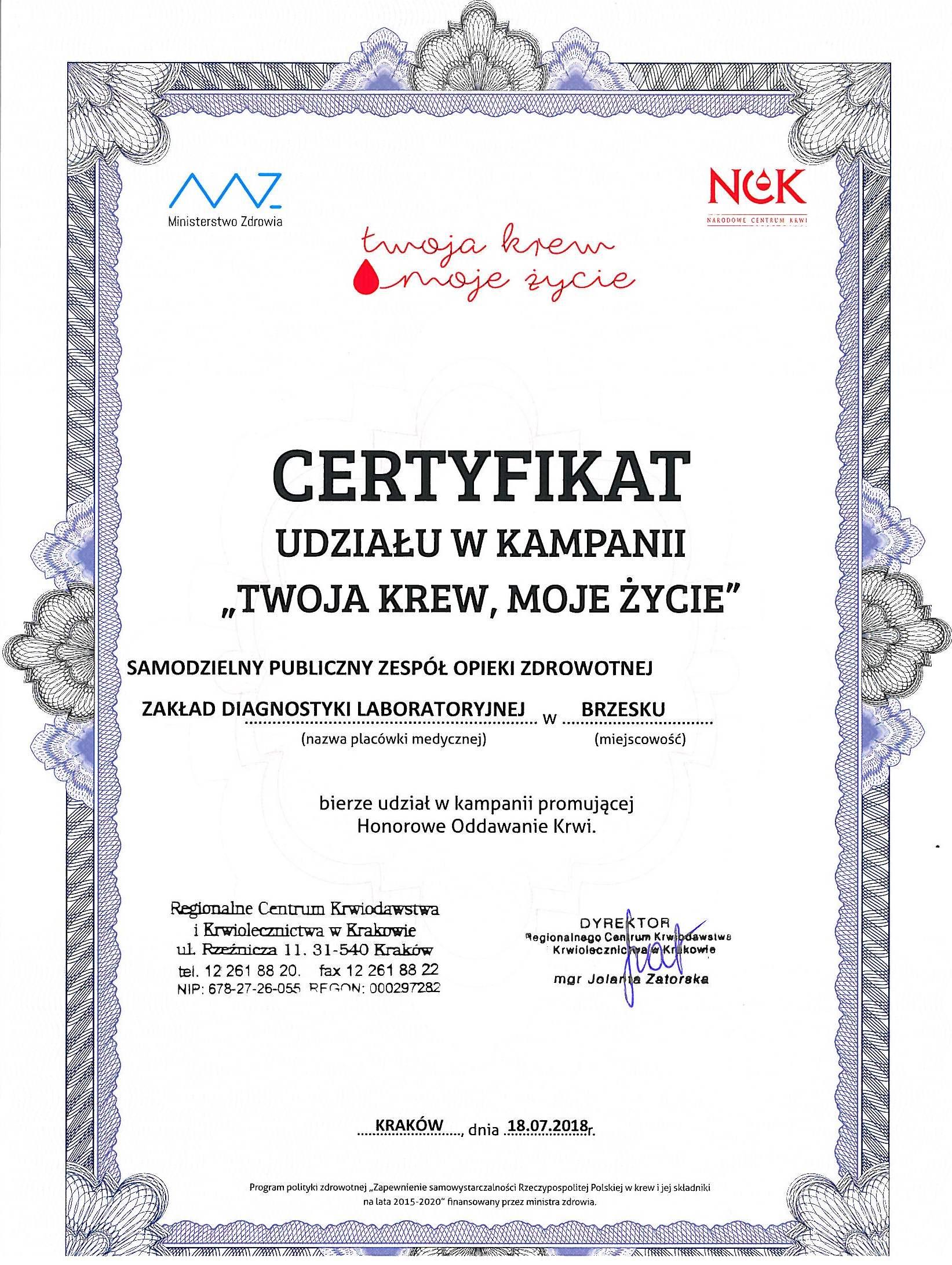 Certyfikat Krew_1