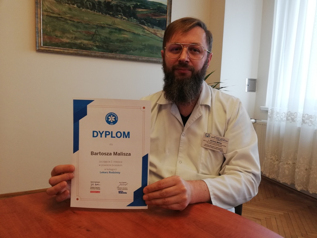 Bartosz Malisz – cieszę się, że pacjenci mi zaufali