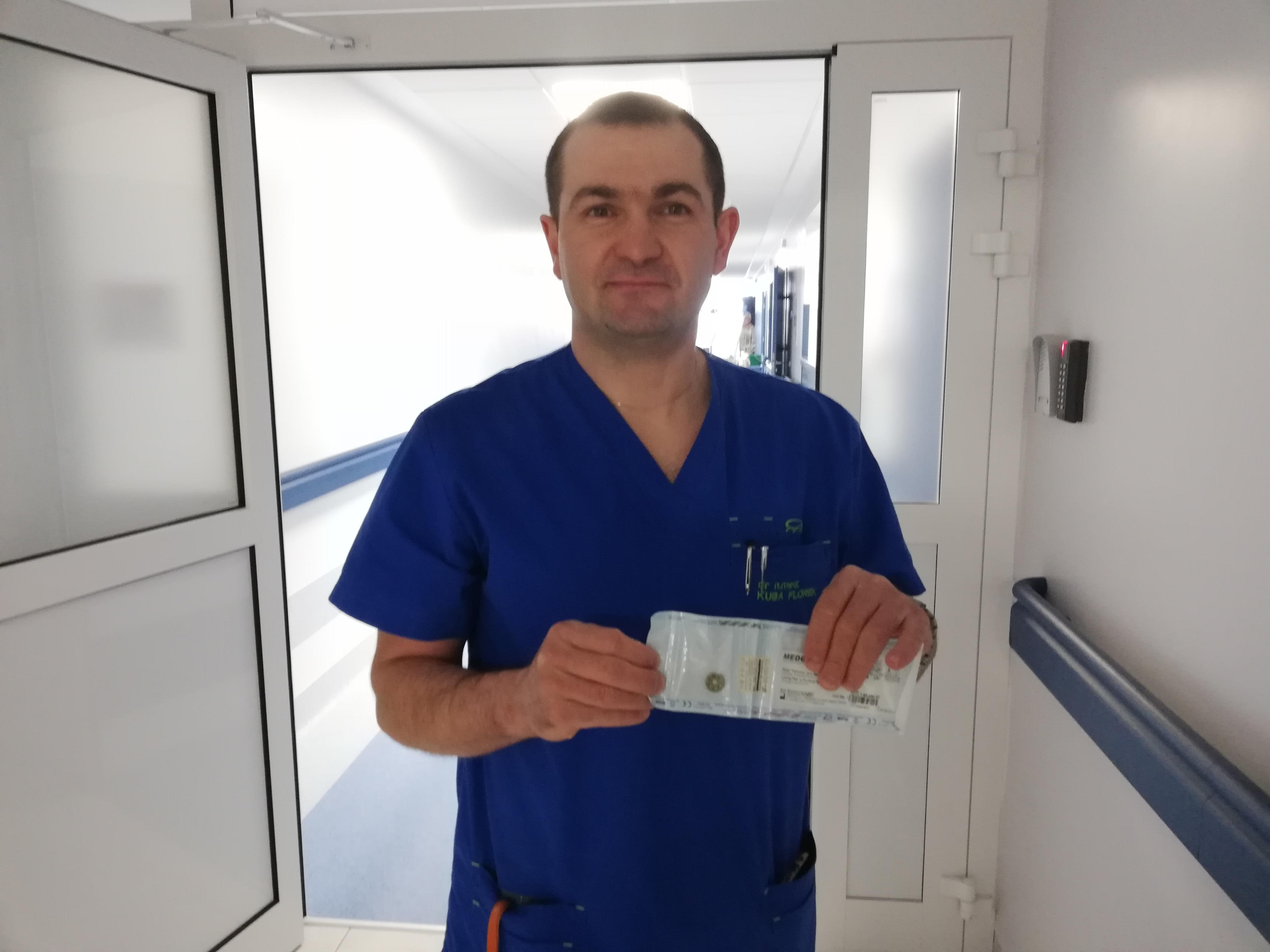 Innowacyjna operacja w brzeskim szpitalu
