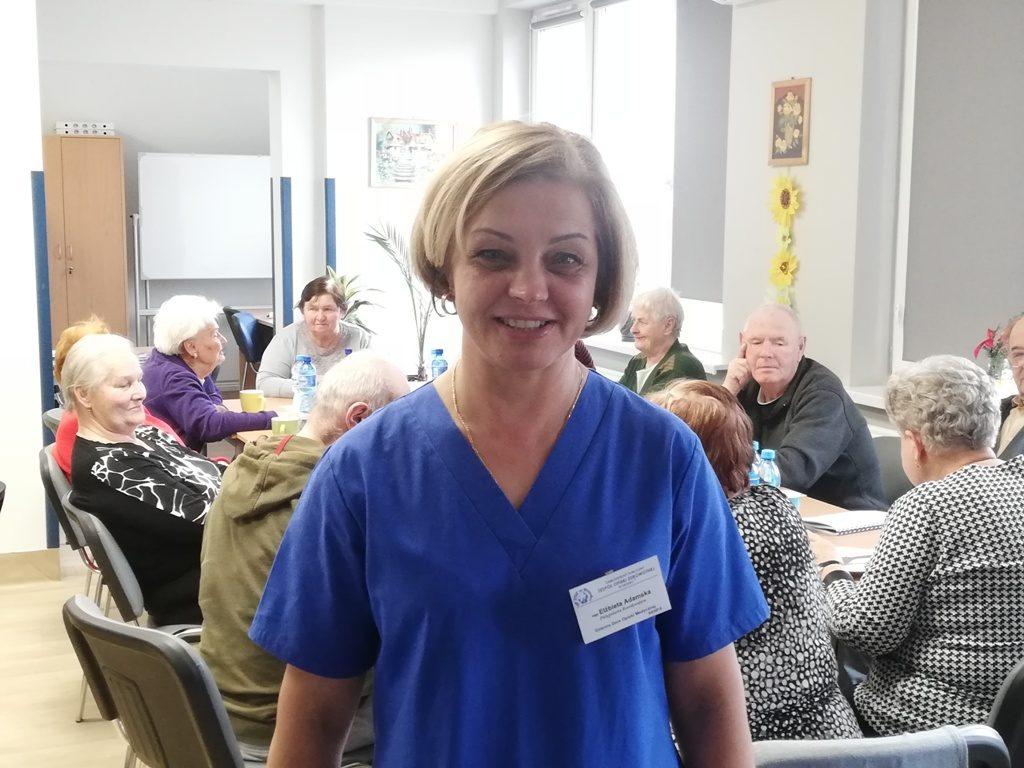 Pielęgniarka Koordynująca DDOM Elżbieta Adamska