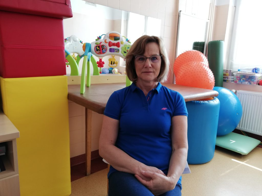 Anna Dębińska z Ośrodka Rehabilitacji Dziennej dla Dzieci