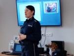 """Kolejne spotkanie  z przedstawicielką Policji w ramach tematu """"Seniora nie oszukasz"""""""