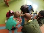 Harcerska wizyta na Oddziale Dziecięcym